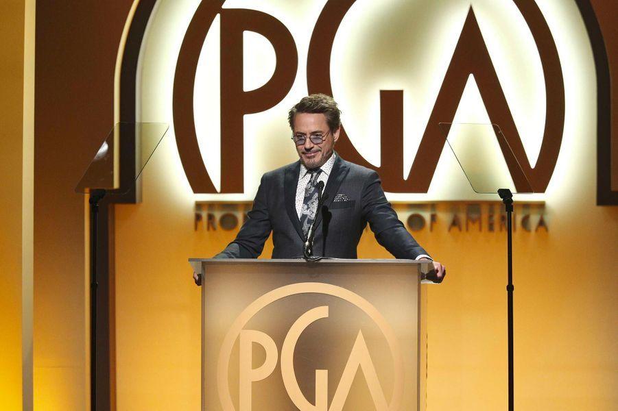 Robert Downey Jr aux Producers Guild Awards, le 19 janvier 2019.