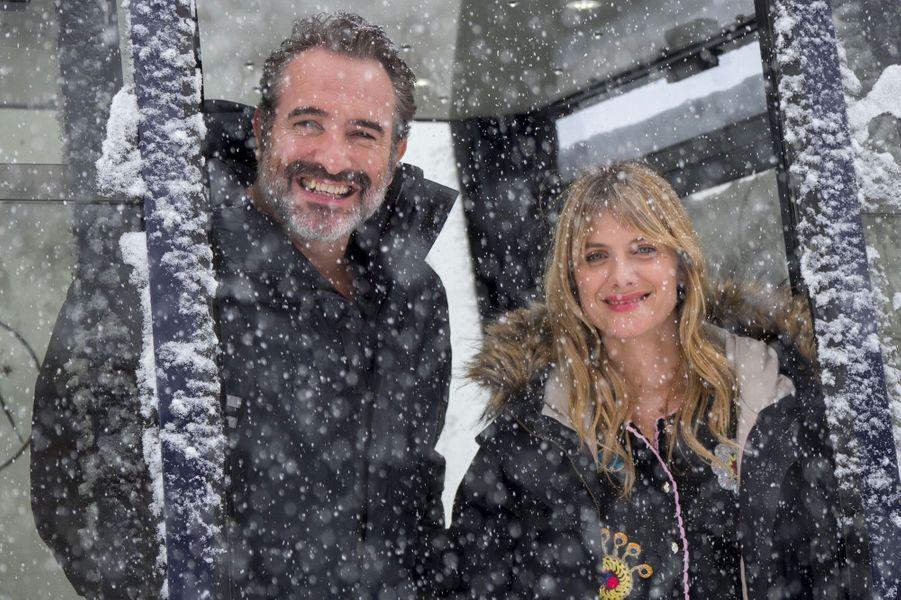 Jean Dujardin et Mélanie Laurent au Festival de l'Alpe d'Huez