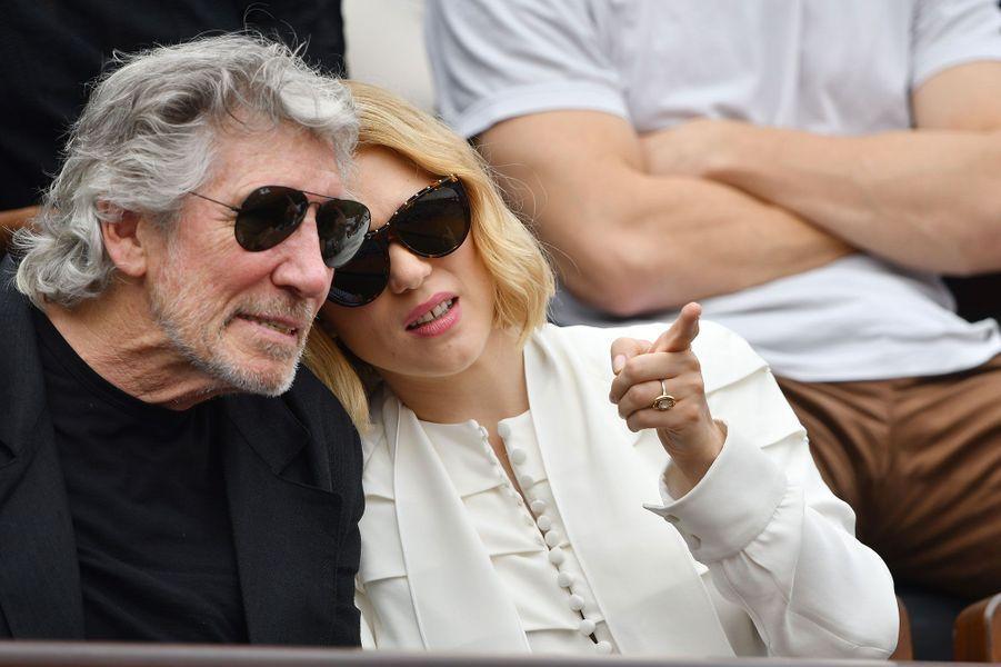 Roger Waters et Léa Seydoux