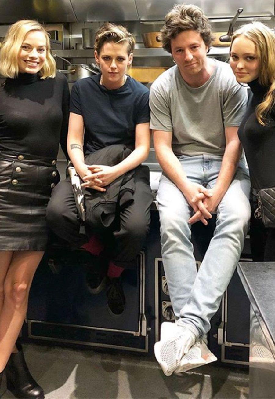 Margot Robbie,Kristen Stewart, Jean Imbert et Lily-Rose Depp
