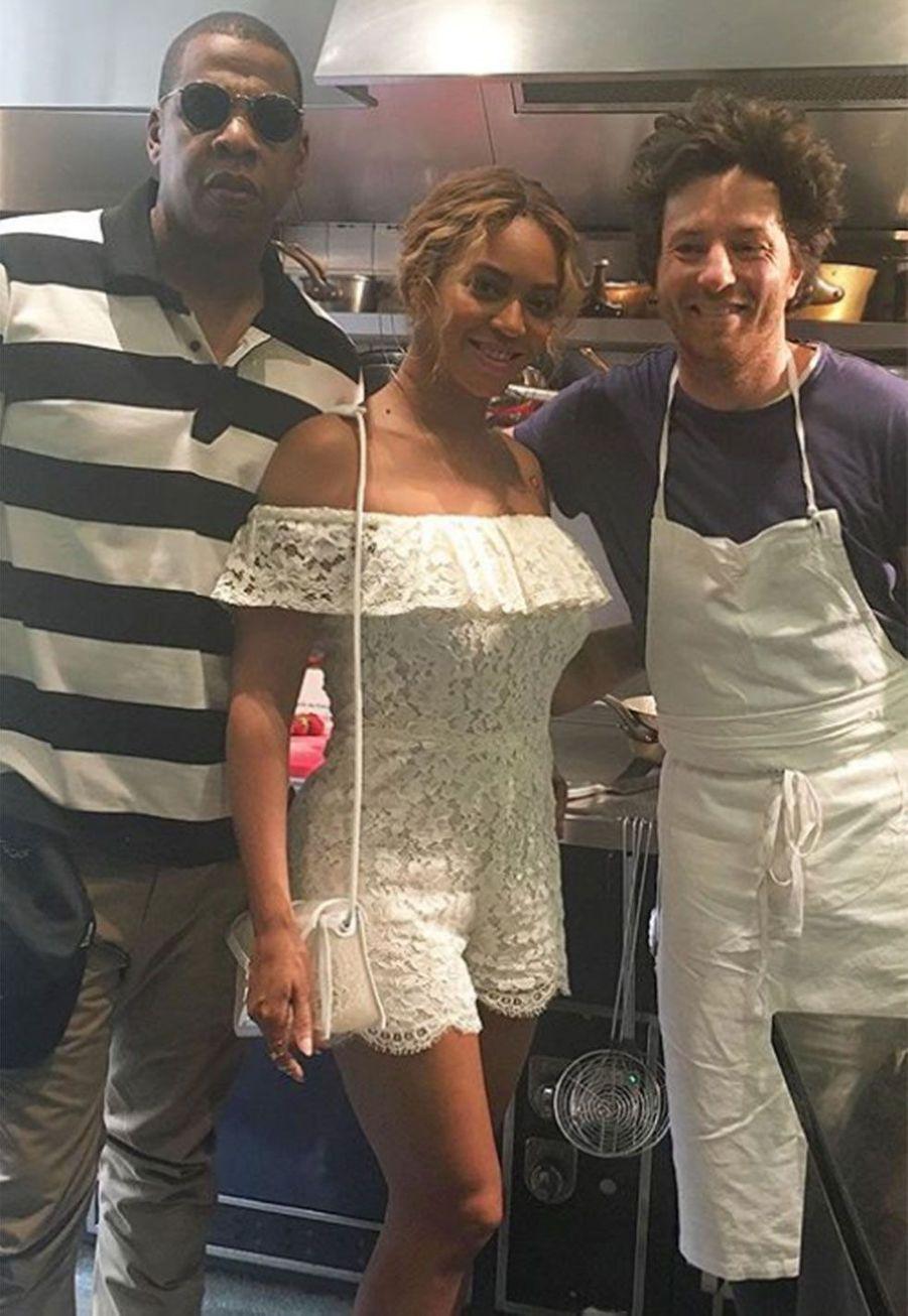 Jay-Z, Beyoncé et Jean Imbert