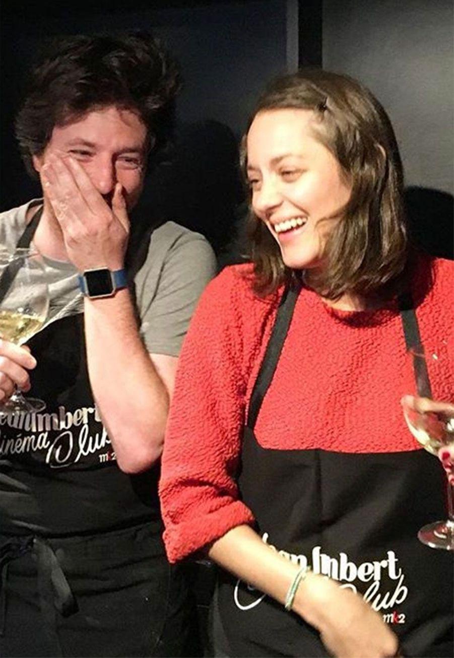 Jean Imbert et Marion Cotillard
