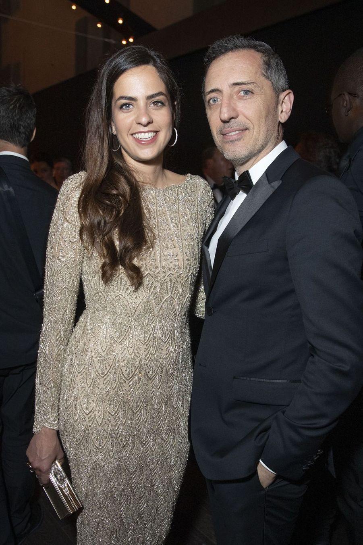 Anouchka Delon et Gad Elmalehà la soirée Kering «Women In Motion Awards» lors du 72ème Festival International du Film de Cannes le 19 mai 2019