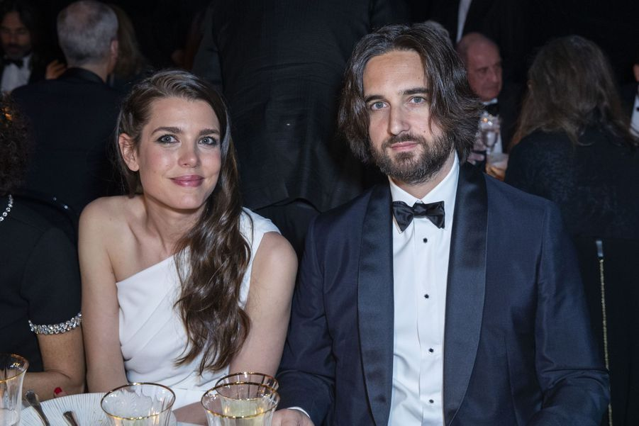 Charlotte Casiraghi et Dimitri Rassamà la soirée Kering «Women In Motion Awards» lors du 72ème Festival International du Film de Cannes le 19 mai 2019