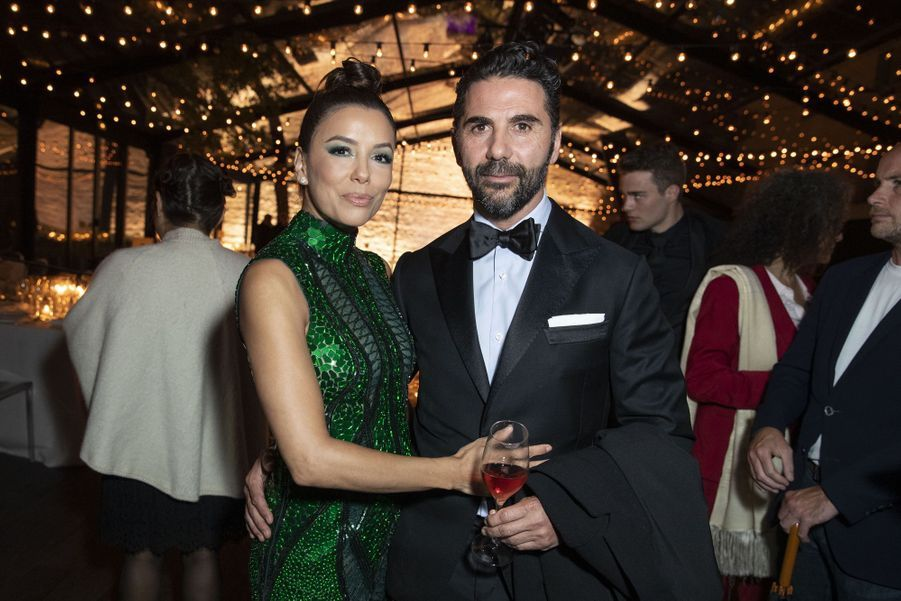 Eva Longoria et José Antonio Bastonà la soirée Kering «Women In Motion Awards» lors du 72ème Festival International du Film de Cannes le 19 mai 2019