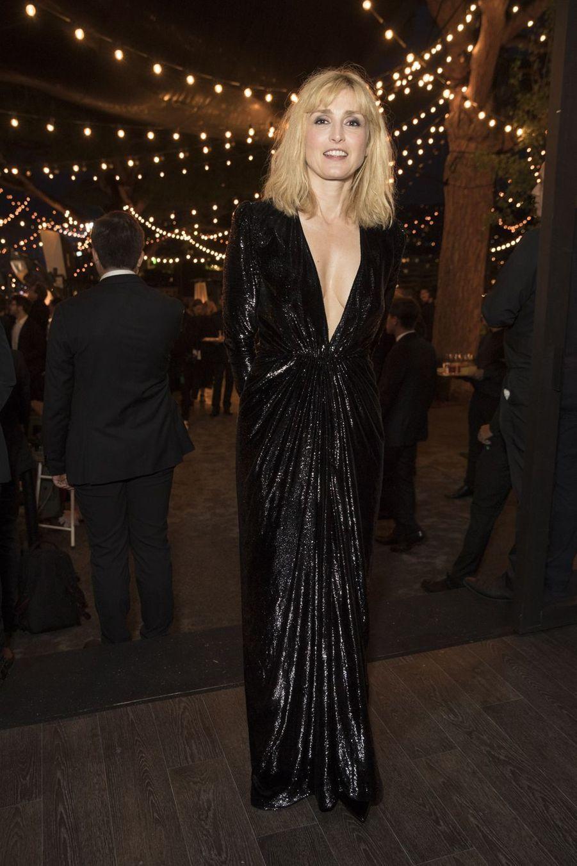 Julie Gayetà la soirée Kering «Women In Motion Awards» lors du 72ème Festival International du Film de Cannes le 19 mai 2019