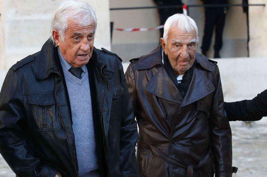Jean-Paul Belmondo et Charles Gerard