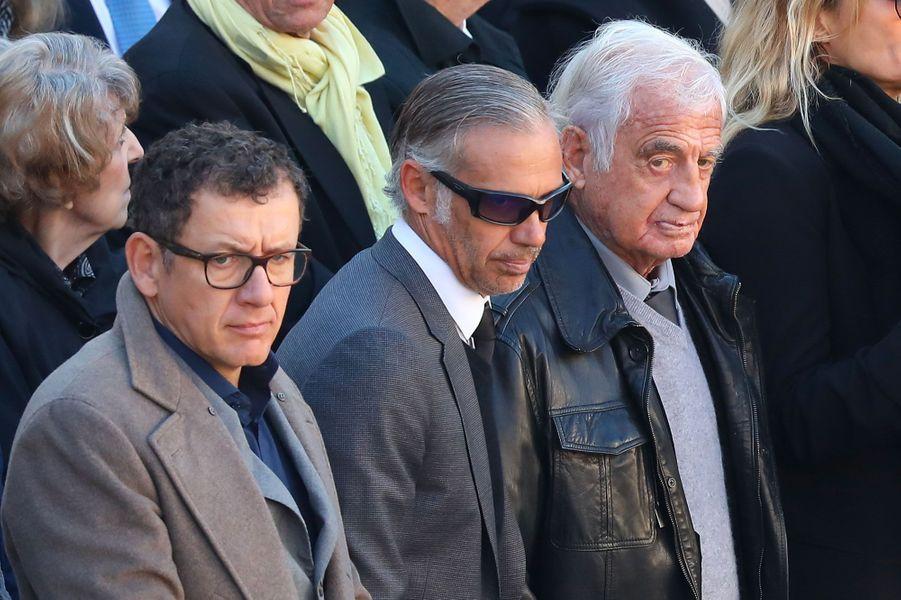 Dany Boon, Paul Belmondo et Jean-Paul Belmondo