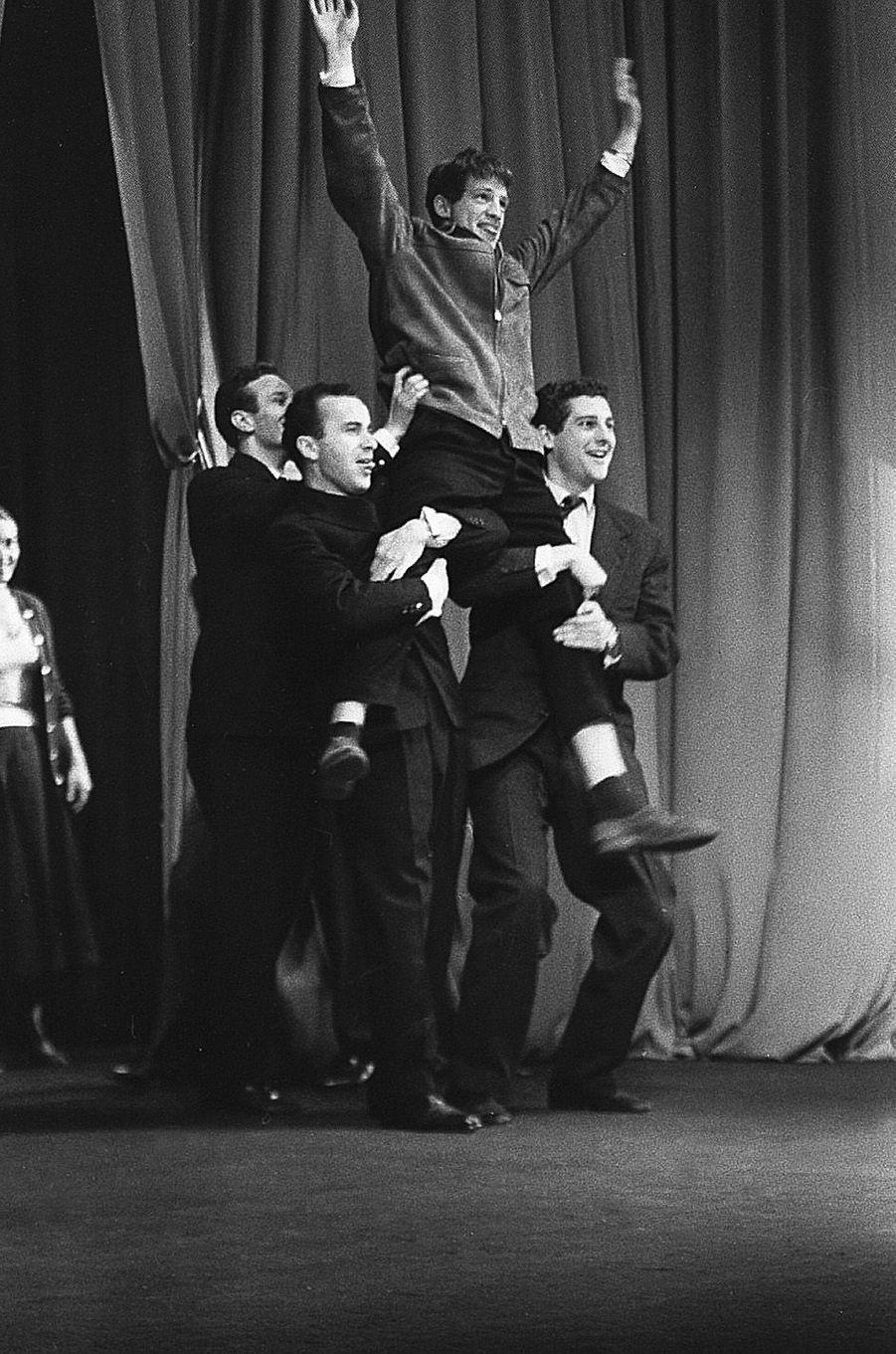 Jean-Paul Belmondo en 1956.