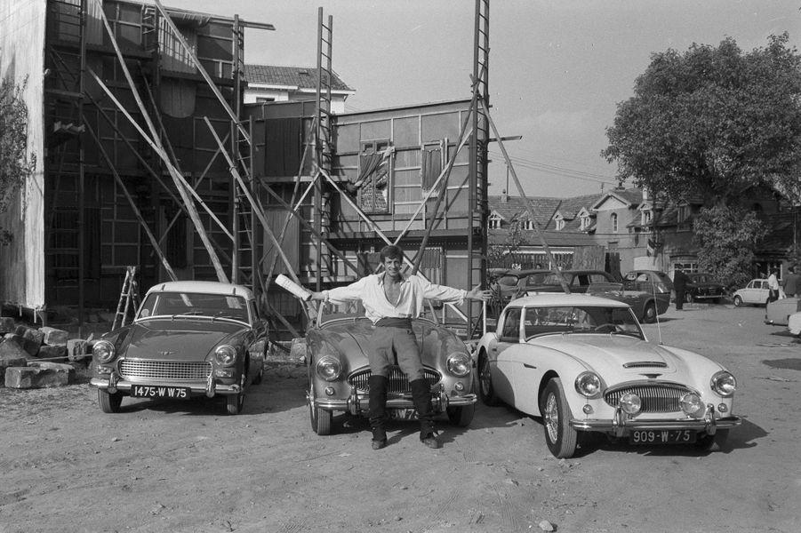 Jean-Paul Belmondo en 1961.