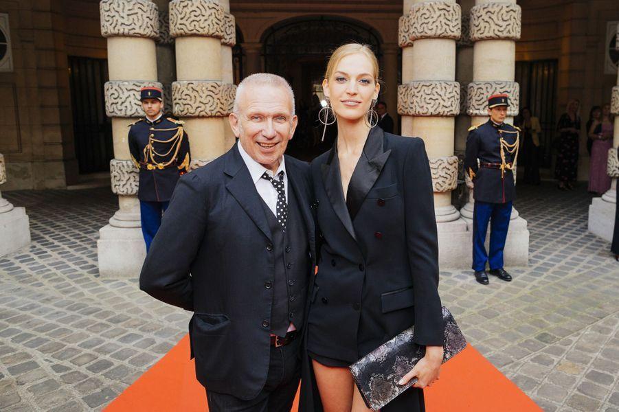 Jean Paul Gaultier et Vanessa Axente.