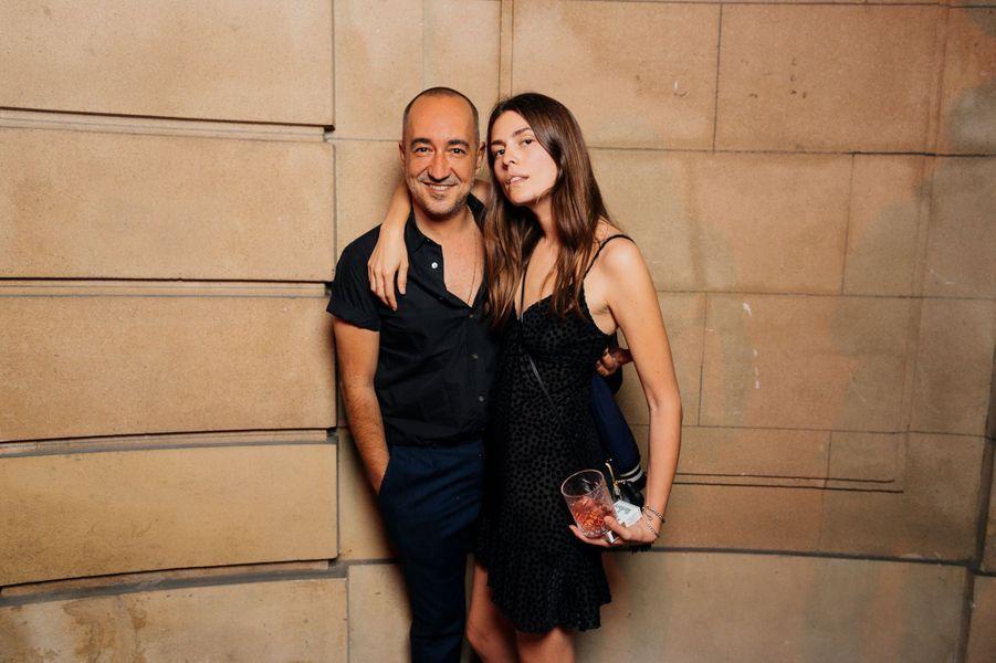 Saif Mahdhi et Helena Tejedor.
