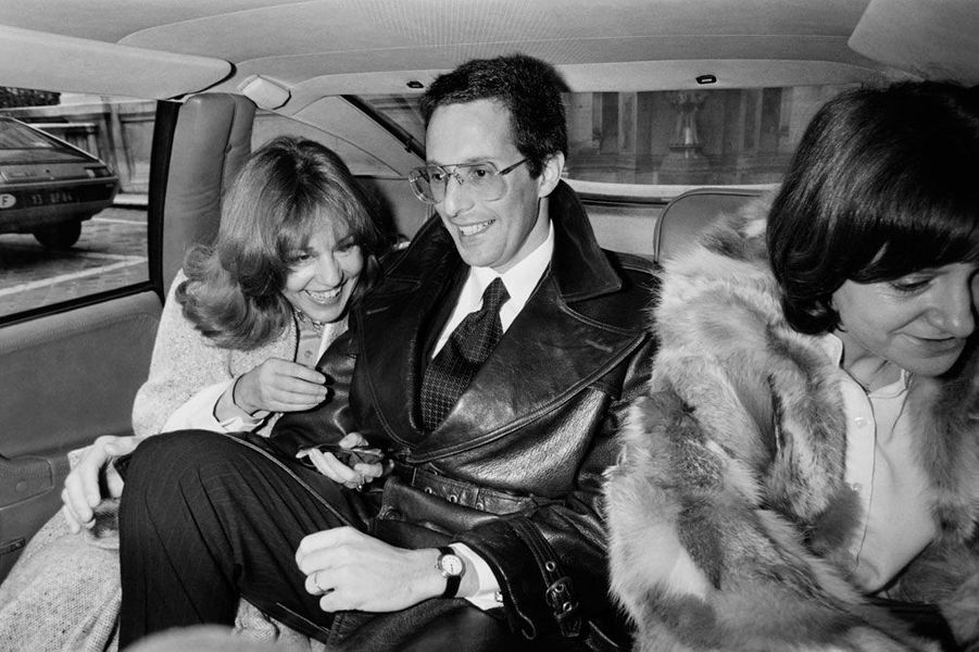 Jeanne Moreau et William Friedkin, son deuxième mari en 1977