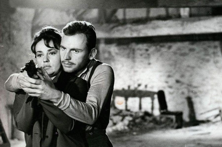 Jeanne Moreau et Jean-Louis Trintignant en 1965