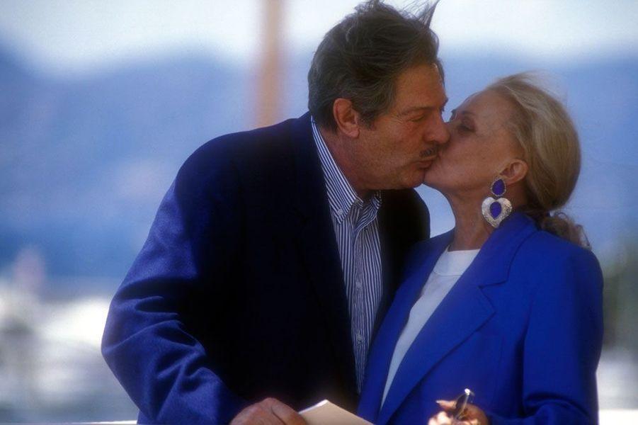 Jeanne Moreau et Marcello Mastroianni
