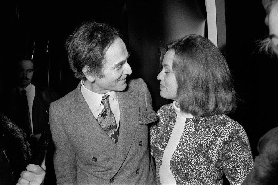 Jeanne Moreau et Pierre Cardin en 1970