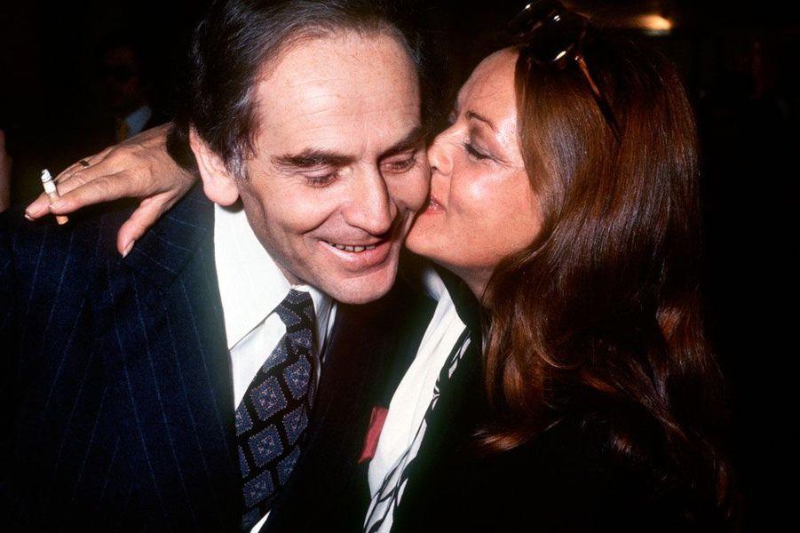 Jeanne Moreau et Pierre Cardin en 1972
