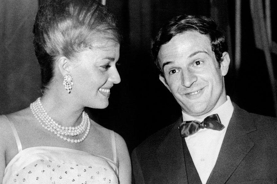 Jeanne Moreau et François Truffaut en 1959