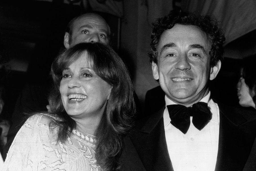 Jeanne Moreau et Louis Malle en 1978