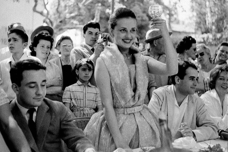 Jeanne Moreau et Louis Malle en 1958