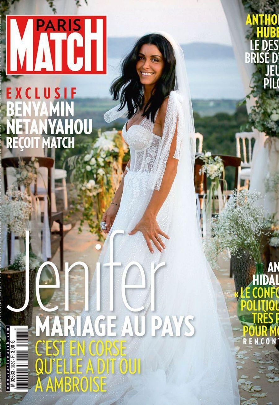 Jenifer a épousé son compagnon Ambroise le 21 août 2019 en Corse après quatre ans d'amour.