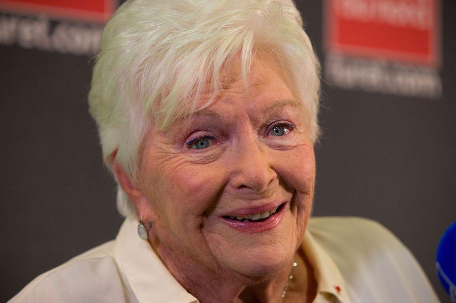 La présidente du jury, Line Renaud