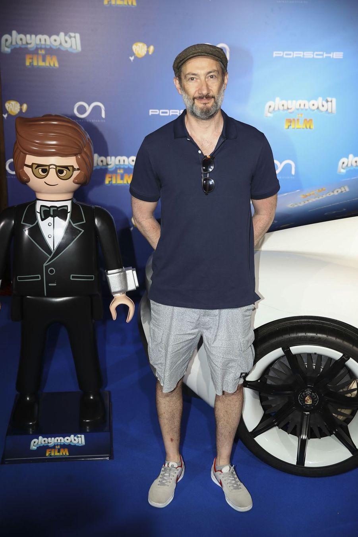 """Vincent Desagnat à l'avant-première de """"Playmobil, Le Film"""", le 23 juin 2019."""