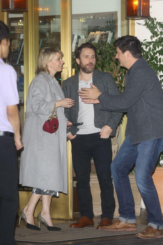 Charlie Dayà la soirée d'anniversaire de Jennifer Aniston à Los Angeles le 9 février 2019
