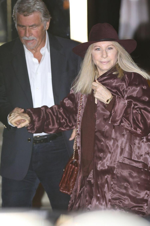 James Brolin et Barbra Streisand à la soirée d'anniversaire de Jennifer Aniston à Los Angeles le 9 février 2019