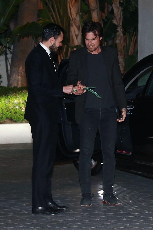 Jason Batemanà la soirée d'anniversaire de Jennifer Aniston à Los Angeles le 9 février 2019