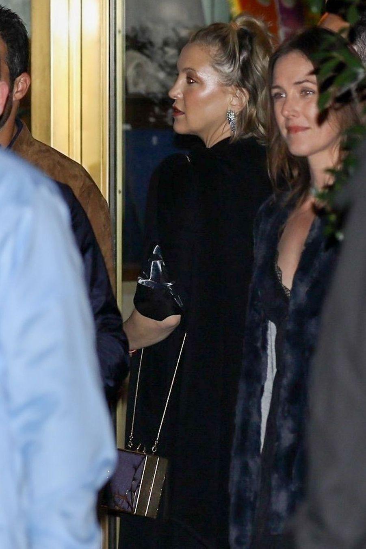 Kate Hudson à la soirée d'anniversaire de Jennifer Aniston à Los Angeles le 9 février 2019