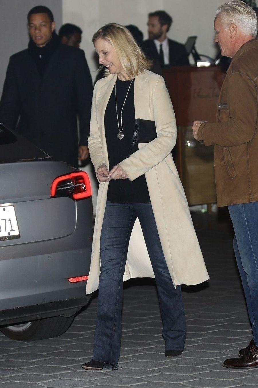 Lisa Kudrowà la soirée d'anniversaire de Jennifer Aniston à Los Angeles le 9 février 2019
