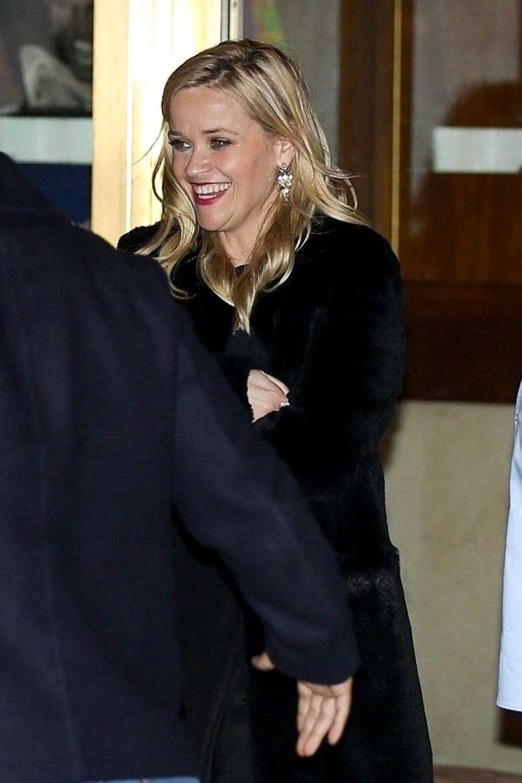 Reese Witherspoonà la soirée d'anniversaire de Jennifer Aniston à Los Angeles le 9 février 2019