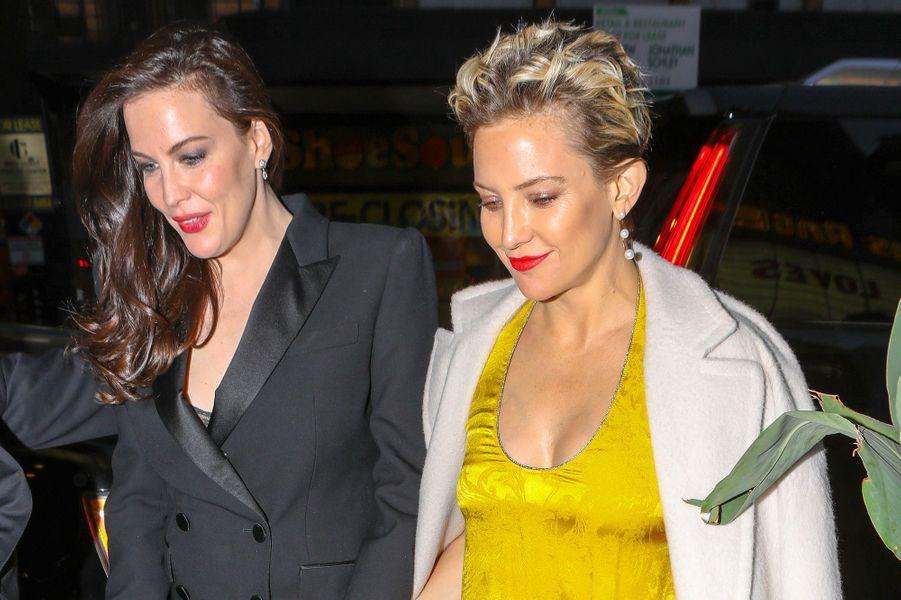 Kate Hudson et Liv Tyler à la fête de fiançailles de Gwyneth Paltrow