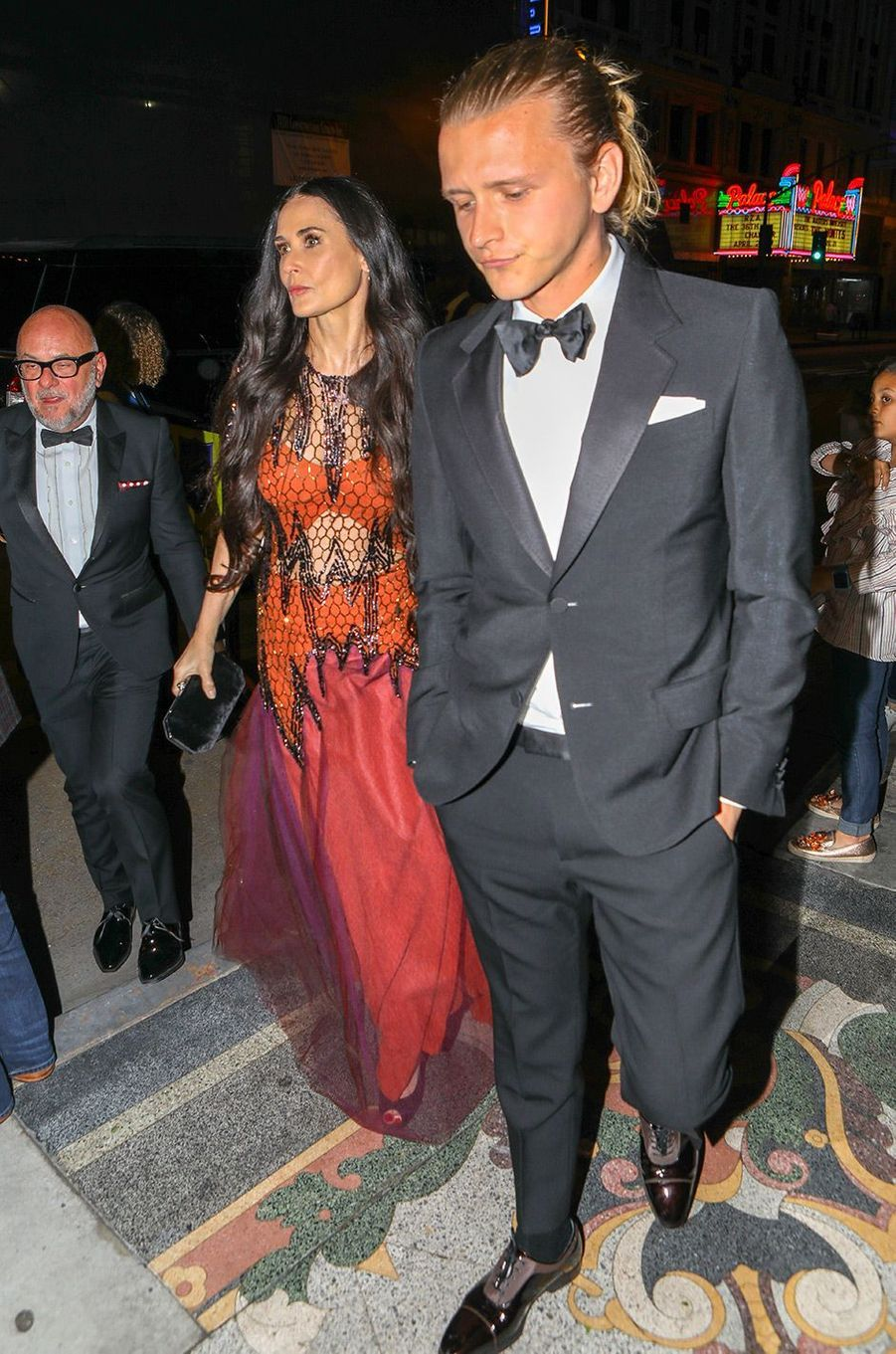 Demi Moore et Sean Friday à la fête de fiançailles de Gwyneth Paltrow