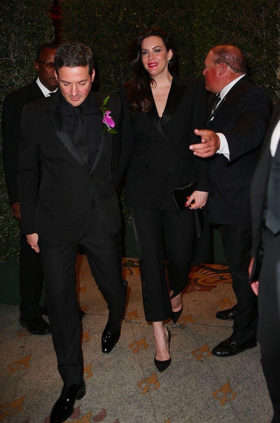 Liv Tyler et Dave Gardner à la fête de fiançailles de Gwyneth Paltrow