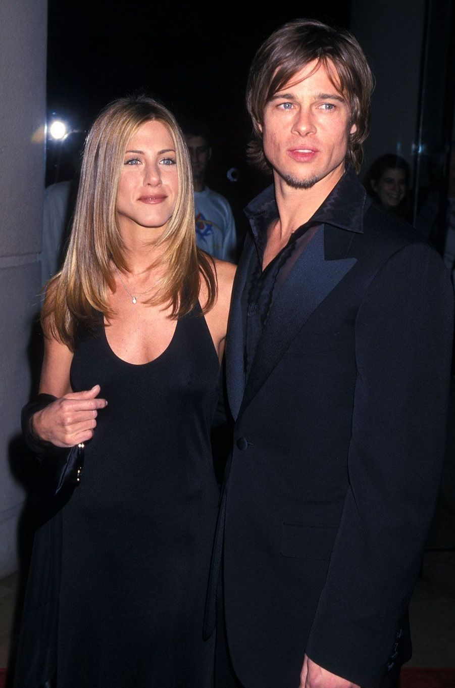 Jennifer Aniston et Brad Pitt en 2000