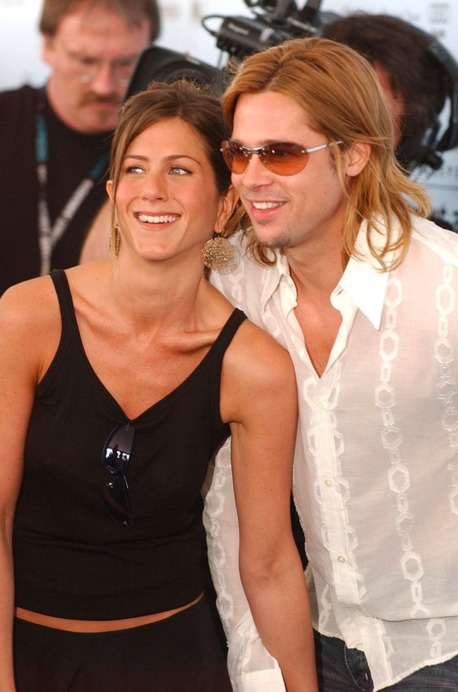 Jennifer Aniston et Brad Pitt en 2003