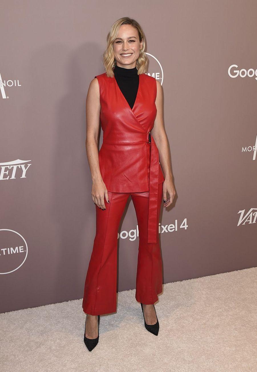 Brie Larsonà la soirée «Variety's Power of Women» à Los Angeles le 11 octobre 2019