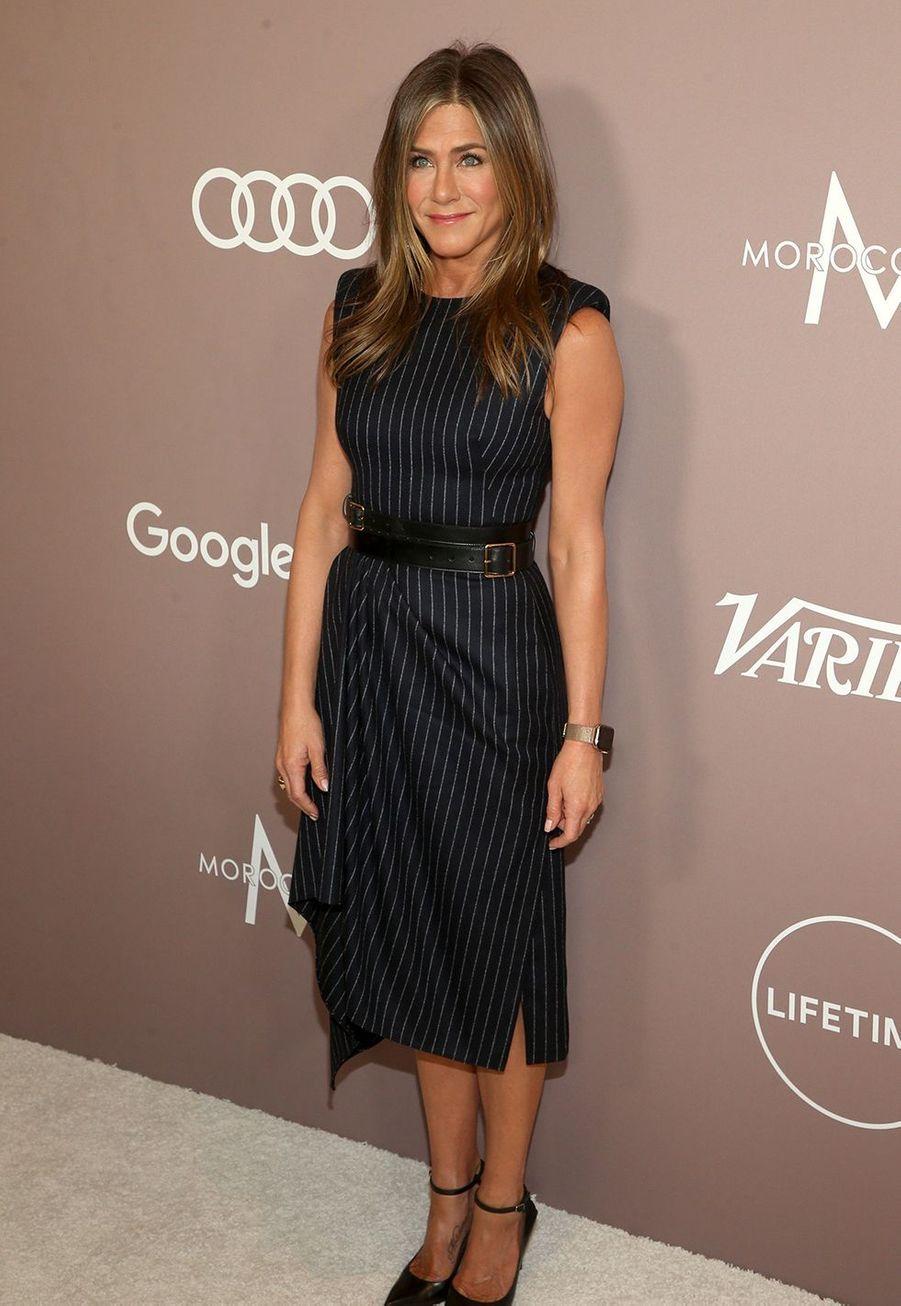 Jennifer Anistonà la soirée «Variety's Power of Women» à Los Angeles le 11 octobre 2019