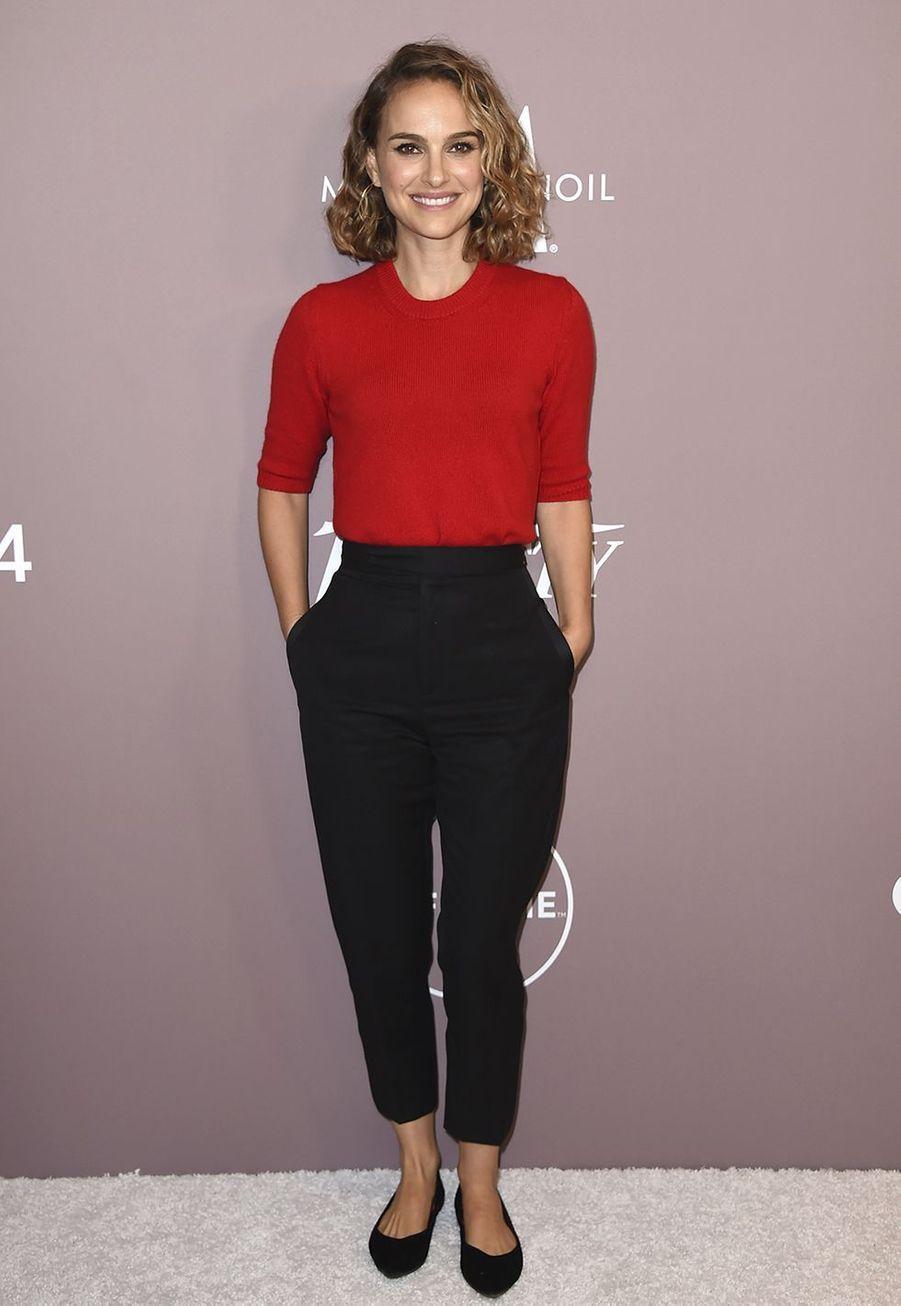 Natalie Portmanà la soirée «Variety's Power of Women» à Los Angeles le 11 octobre 2019