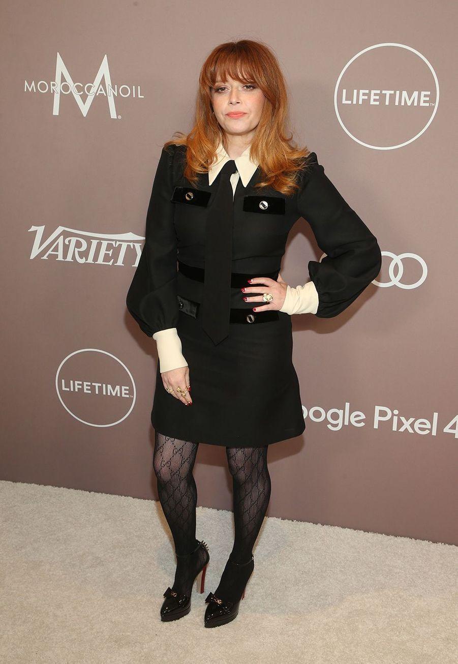 Natasha Lyonneà la soirée «Variety's Power of Women» à Los Angeles le 11 octobre 2019