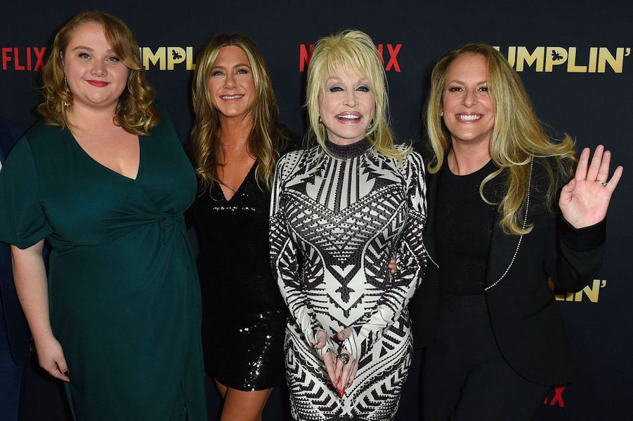 Danielle Macdonald, Jennifer Aniston, Dolly Parton et Anne Fletcher