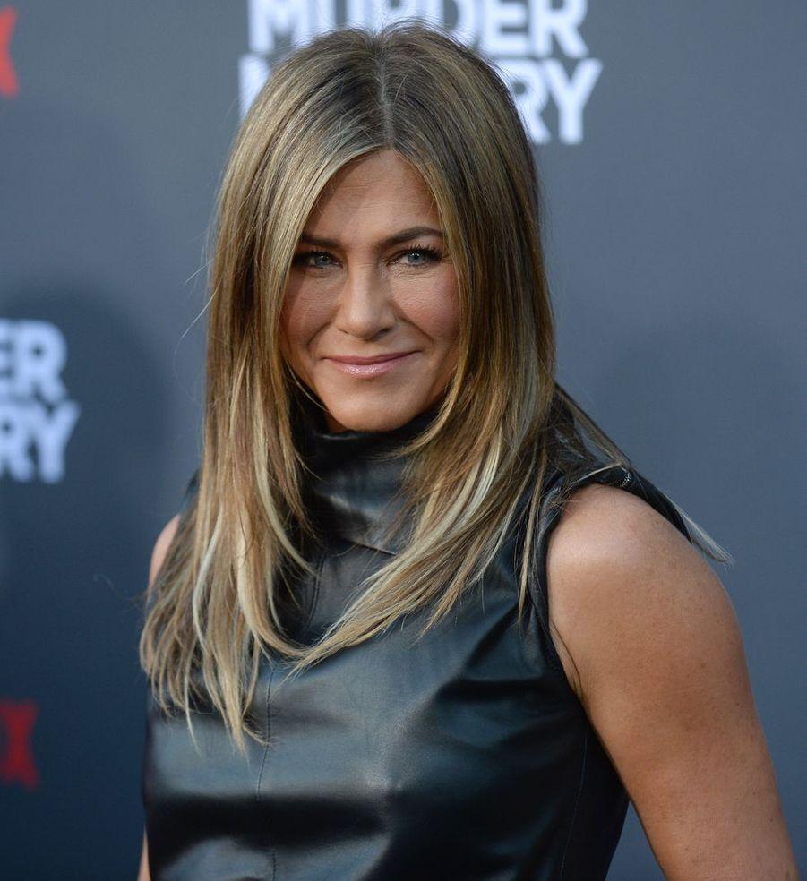 Jennifer Anistonà la première du film«Murder Mystery» le 10 juin à Los Angeles.