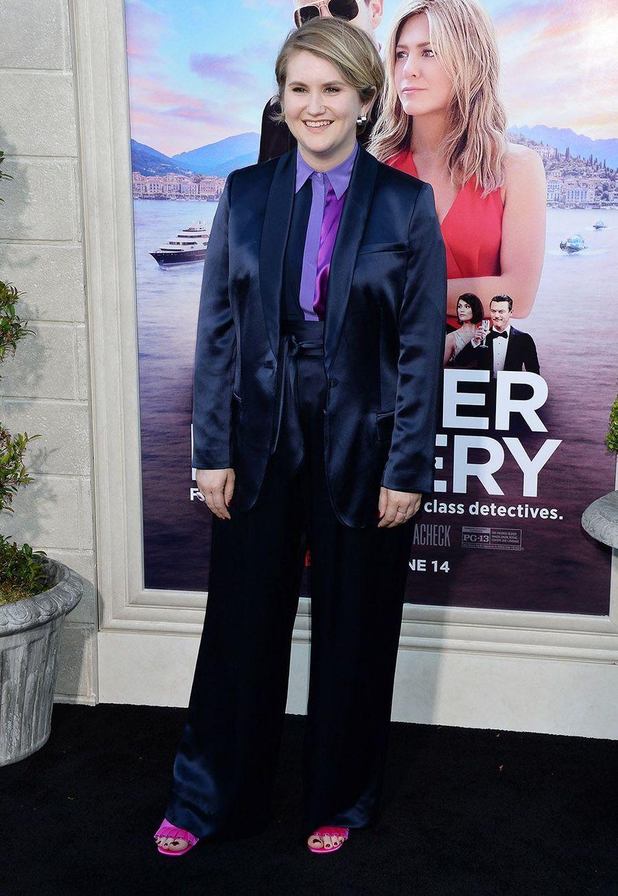 Jillian Bellà la première du film«Murder Mystery» le 10 juin à Los Angeles.