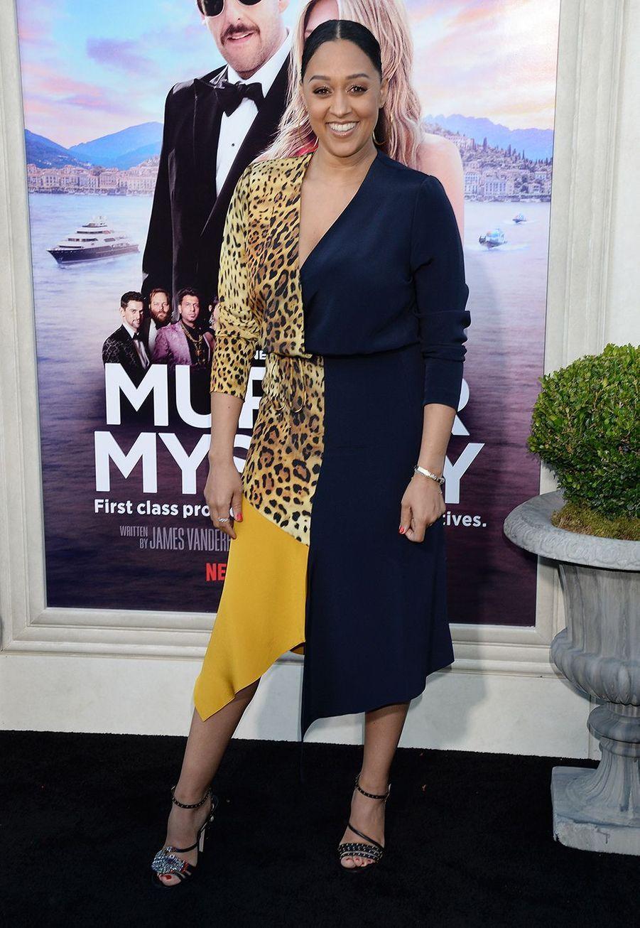 Tia Mowry à la première du film«Murder Mystery» le 10 juin à Los Angeles.