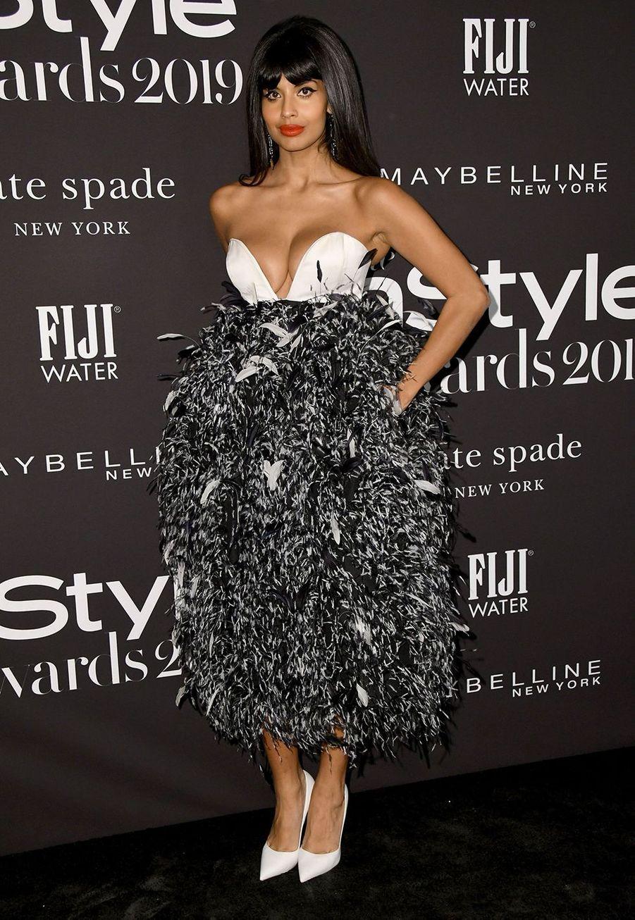 Jameela Jamilà la soirée InStyle Awards à Los Angeles le 21 octobre 2019