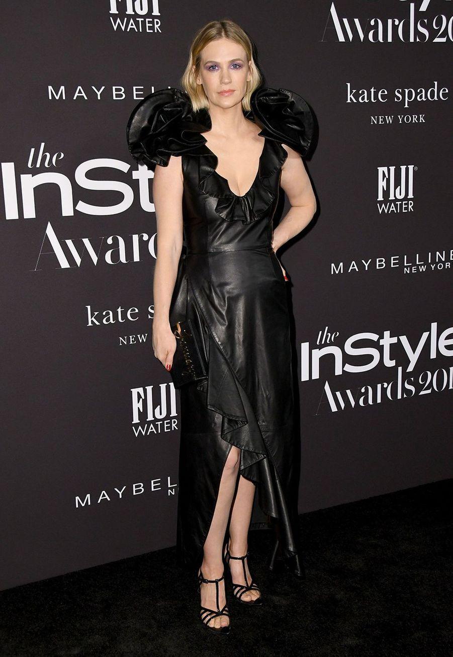 January Jonesà la soirée InStyle Awards à Los Angeles le 21 octobre 2019
