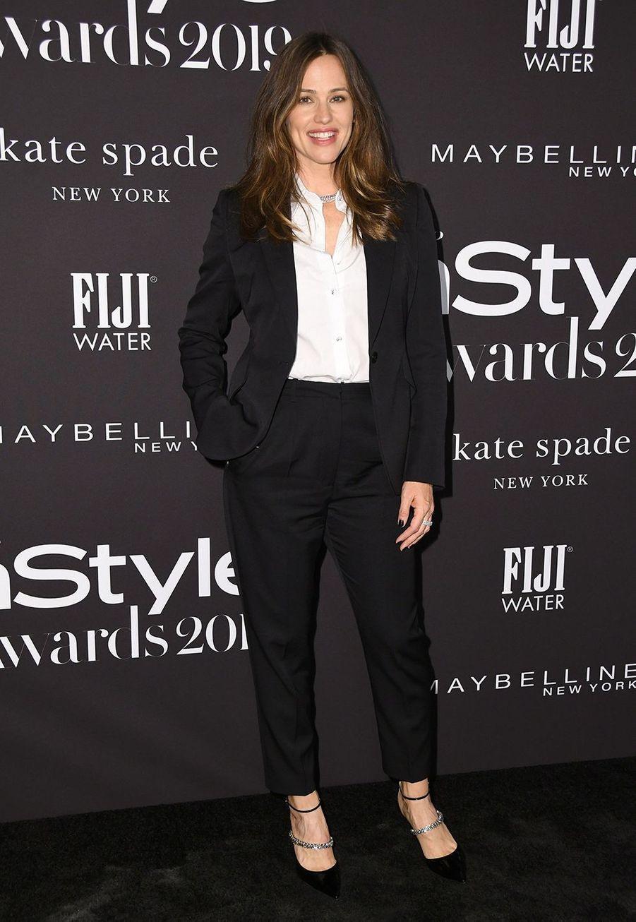 Jennifer Garner à la soirée InStyle Awards à Los Angeles le 21 octobre 2019
