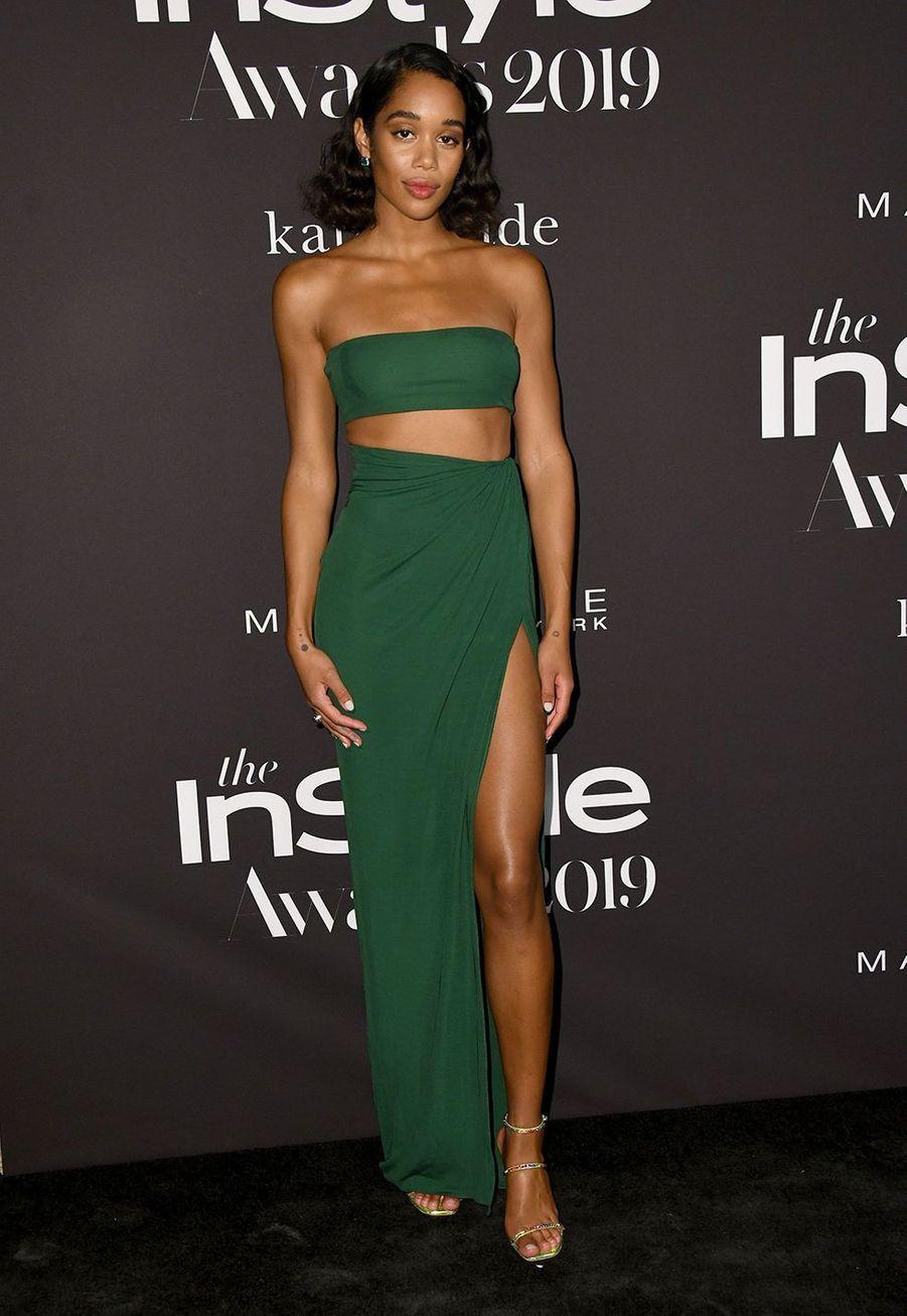 Laura Harrierà la soirée InStyle Awards à Los Angeles le 21 octobre 2019